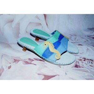 Arteffects Lucy Brazilian Seahorse Heel Sandals